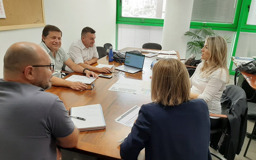 Reunión de trabajo entre los socios del Volturmac en la isla de Tenerife: Involcan, Iter, ULL y Cabildo de Tenerife