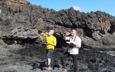 Campaña de campo en la isla de La Palma