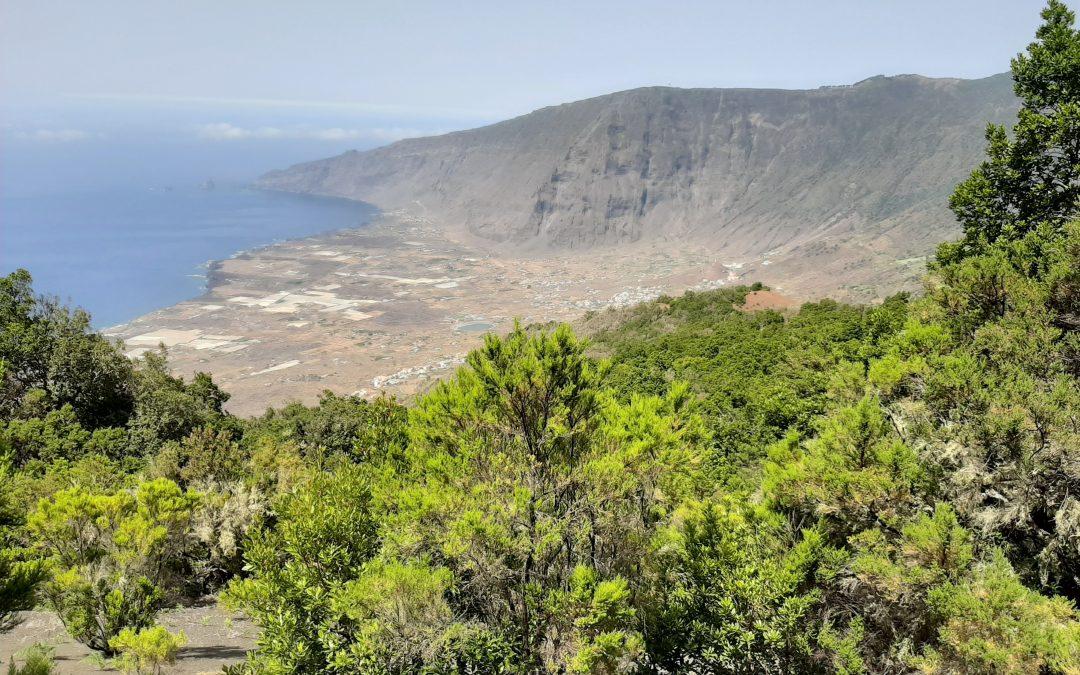 Campaña de campo en el el Geoparque Mundial Unesco de El Hierro