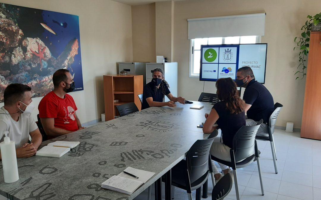 Reunión con el Geoparque Mundial Unesco de El Hierro