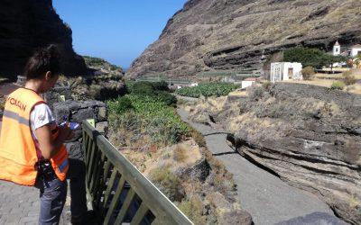 3ª Campaña de campo en la isla de La Palma, Canarias