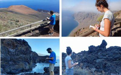 2ª Campaña de campo en el Geoparque Mundial Unesco de El Hierro
