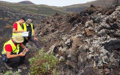 Geógrafos de la Universidad de Castilla-La Mancha participan en las investigaciones sobre el geopatrimonio del volcán de La Palma